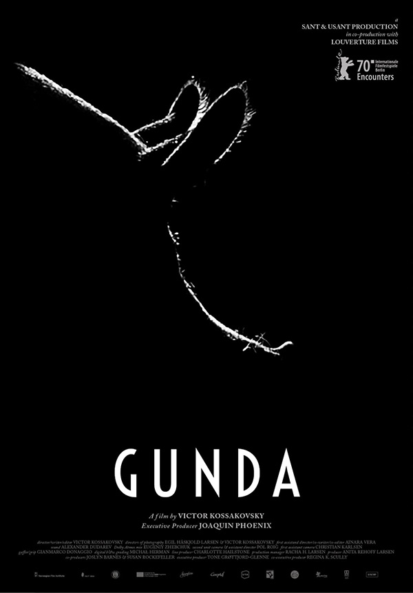 poster Gunda documentaire